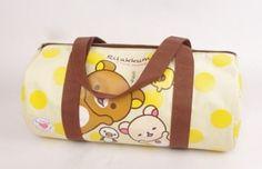 so kawaii San x Rilakkuma Canvas Duffle Bag   eBay