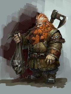 Gundren Rockseeker Fantasy Warrior, Fantasy Dwarf, Fantasy Races, Fantasy Rpg, Medieval Fantasy, Fantasy Artwork, Dark Fantasy, Character Concept, Character Art