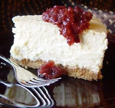 Absolutely the Best New York Cheesecake (By Bird) (Gluten-Free). Photo by Beautiful BC
