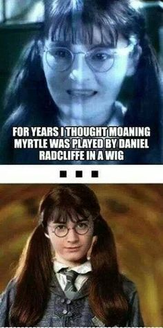 Funny pictures about Daniel Radcliffe in a wig. Oh, and cool pics about Daniel Radcliffe in a wig. Also, Daniel Radcliffe in a wig. Harry Potter Humor, Arte Do Harry Potter, Harry Potter Hogwarts, Funny Harry Potter Pics, Harry Potter Stuff, Always Harry Potter, Funny Meme Pictures, Funny Memes, Meme Meme