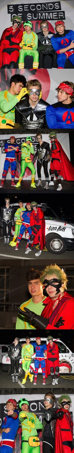 5SOS last night after their little CLIMB DOWN A BUILDING THAT ALMOST GAVE ME A HEART ATTACK