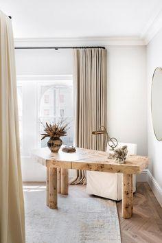 Beautiful Interior Design, Interior Design Inspiration, Home Decor Inspiration, Home Office Design, Home Office Decor, House Design, Notting Hill Apartments, Pierre Jeanneret, Studio Mcgee