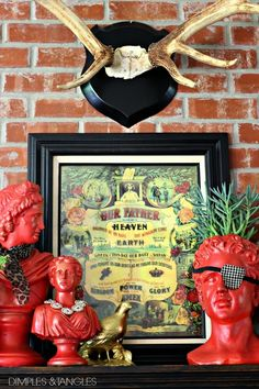 fabulous decorated busts for fall