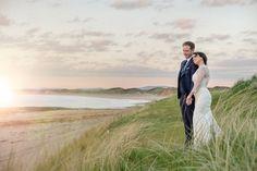 #beautiful #sunset pose on #weddingday #ireland #trumpdoonbeg #destinationwedding #ireland #weddingplanning