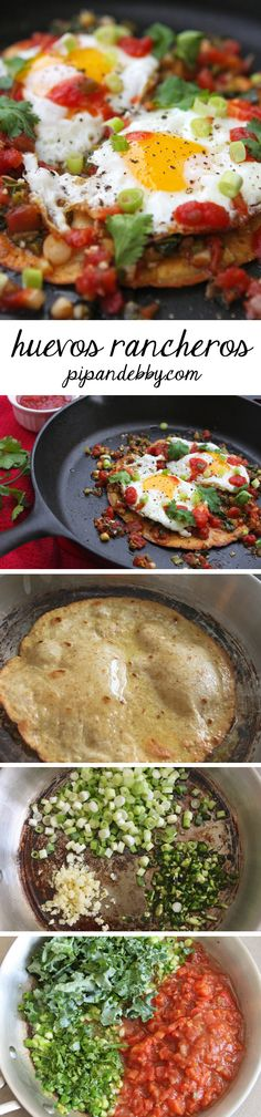 Huevos Rancheros - one of my favorite ways to enjoy breakfast!