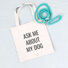 Ask Me About My Dog Tote Bag. These simply designed canvas tote bags will be the shopping bag you reach for time and time again. They are roomy enough to hold all your essentials but not so large that you feel like you're lugging a suitcase around. Made from lightweight cotton canvas, they are not only durable but both classic and trendy. 10% of your purchase is donated to help dogs in need at local animal shelters. Dog Mom Gifts, Dog Lover Gifts, Dog Lovers, Wild Animals Pictures, Puppy Pictures, Cute Little Animals, Cute Funny Animals, Baby Animals, Dog Tote Bag