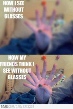 How many fingers do you see? <--- bahahaha, yep, that's what people always seem to think.