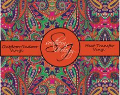 Beautiful Aztec Pattern Craft Vinyl and Heat par SouthernIdeology