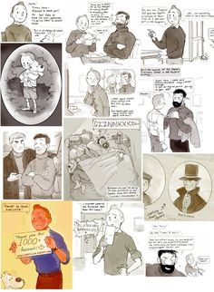 Ask Tintin answers collection 1 by Barukurii--- I just love little Tintin on the third pic :) Sooo adorable!!!