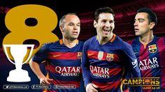 Messi, Iniesta y Xavi: 8 Ligas con el FC Barcelona   Football Manager All Star