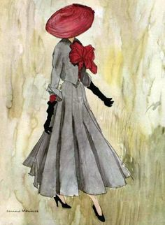 Vintage Dior Illustration
