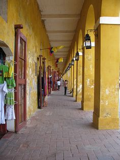 The writer will be shopping her socks off in Cartagena, Colombia, thinking of the ancient Corgi, back at home, napping and dreaming of places to which he'll never travel. Places Around The World, Travel Around The World, Around The Worlds, Places To Go, Places Ive Been, Cruise Destinations, Pictures Images, World Heritage Sites, Vacation Spots
