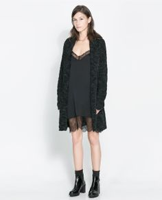 ZARA - NEW THIS WEEK - LINGERIE STYLE DRESS