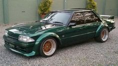 Ford Falcon with a phase 5 body kit looks so tough