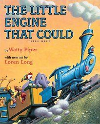 The Little Engine That Could - Loren Long. One of my favorite books to read as a kid has now been re-illustrated by one of my favorite illustrators! I Love Books, Great Books, Books To Read, My Books, Story Books, Karma, Little Engine That Could, Thing 1, Little Golden Books