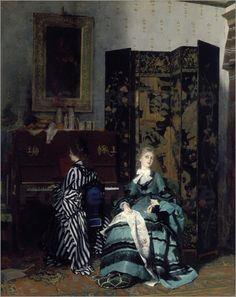 Albert von Keller - Chopin. 1873