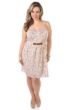 Floral dress. Love! Florals for bridesmaids? I think so!