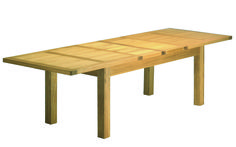 Bordeaux Large 2 metre Extending Dining Table (shown here, extended)