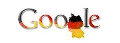 Google Doodle vom 03.10.2008 - Tag der deutschen Einheit