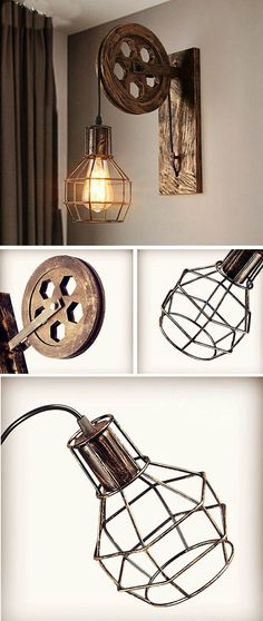 Coole vintage lampe im industrial style vintage lampen industrial affiliate