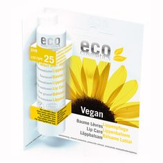 eco cosmetics, SPF25, lip care stick. Buy now at LoveLula - The World's Natural Beauty Shop. FREE Delivery Worldwide.