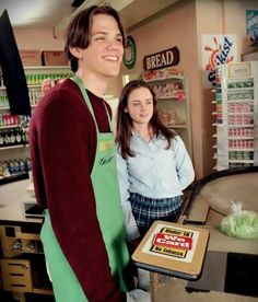 Dean and Rory  Gilmore Girls