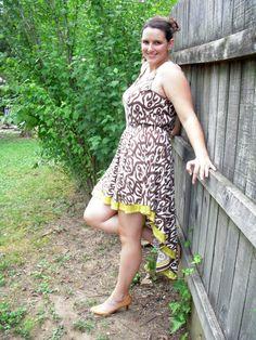 @roressclothes closet ideas #women fashion Stylish High-low Skirt