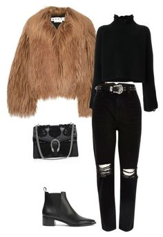 """""""Unbenannt #479"""" by sina5439 on Polyvore featuring Mode, Marni, Golden Goose, River Island, Acne Studios und Gucci"""