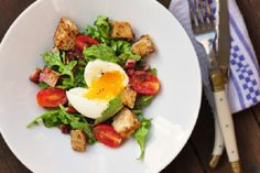 Deconstructed BLT with Eggs from Eat, Live, Travel, Write