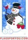 Zebra Scarf Snowman Garden Flag House Flags, Garden Flags, Snowman, Christmas Ornaments, Holiday Decor, Winter, Home Decor, Winter Time, Christmas Ornament