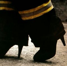 Lady firefighters! what a beautiful photography statement!!!! ♥