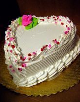 Image detail for -White heart valentines day cake with bright pink floral decoration. Heart Shaped Cakes, Heart Cakes, Beautiful Cakes, Amazing Cakes, Valentines Day Cakes, Wilton Cake Decorating, Ice Cream Desserts, Cake Pictures, Occasion Cakes