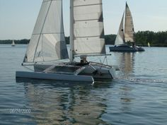 Sailing & Living Aboard a Patterson 21 Trimaran   Small Trimarans