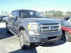 Salvage 2013 Ford F150 Super