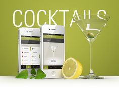Based on the famous cocktails poster by Konstantin Datz, you now have the world's finest cocktails all in one greatly designed iPhone-App!