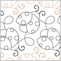 Quilting Designs by Urban Elementz Quilting Stitch Patterns, Machine Quilting Patterns, Quilt Stitching, Quilt Patterns Free, Top Stitching, Quilting Stencils, Quilting Templates, Longarm Quilting, Patchwork Quilt