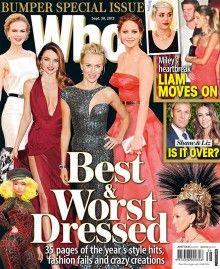 Cate Blanchett, Nicole Kidman y Miranda Kerr, australianas puras,  ocuparon los tres primeros puestos de las mejores vestidas del año.