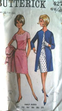 retro Butterick sixties dress