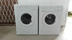 PRACTICALLY BRAND NEW INDESiT SET WASHING MACHINE AND TUMBLE DRYER   Drummond   Gumtree South Africa   161022175