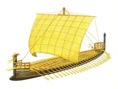 The Ships of the Sea Peoples – Part 1... a confederacy of seafaring raiders of the 2nd  BC.