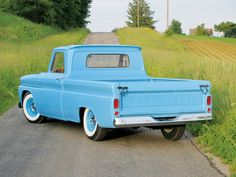 classic blue pickup - Google Search