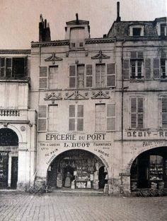 il y a 100 ans sur le port