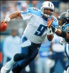 QB Steve McNair TN Titans. R.I.P #memorabilia