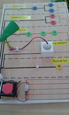 Simulador de circuitos eléctricos básicos en serie, paralelo y mixto. Realizado por alumnos de 2º de ESO
