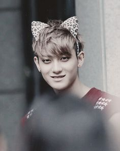 EXO - Tao.....This is a super cute picture cause I love kittens. K-Pop rules allow grown men to be adorable:) Tao has me thinking, here Kitty Kitty kitty:)