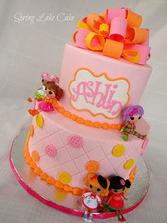 lalaloopsy cake, via Flickr.