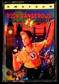 Juego Amstrad CPC Cinta - Rick Dangerous 2 (1990) Español Erbe