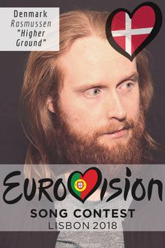 EUROVISION SONG CONTEST 2018: DENMARK - 'Higher Ground' By Rasmussen All Kinds Of Everything, Higher Ground, Cover Band, Pop Music, Trivia, Denmark, Singer, Funny, Books