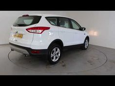 FORD KUGA 2.0 TDCI ZETEC - Air Conditioning - Alloy Wheels - Bluetooth - Spare Key - Parking Sensors | In white with 43000 miles on the clock. Click here to ...