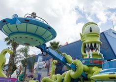 Simpson's fans experience Springfield at Universal Studios Orlando